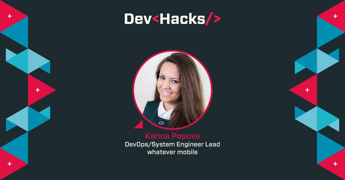Karina Popova hackathon mentor