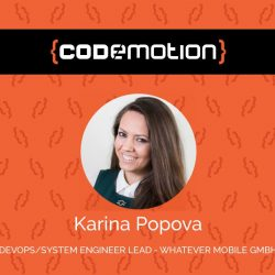 Karina Popova codemotion